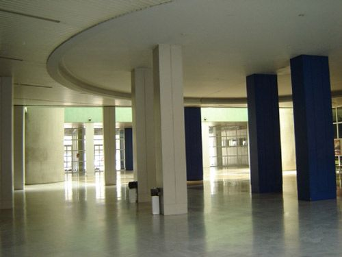 Interior del actual Instituto Murillo